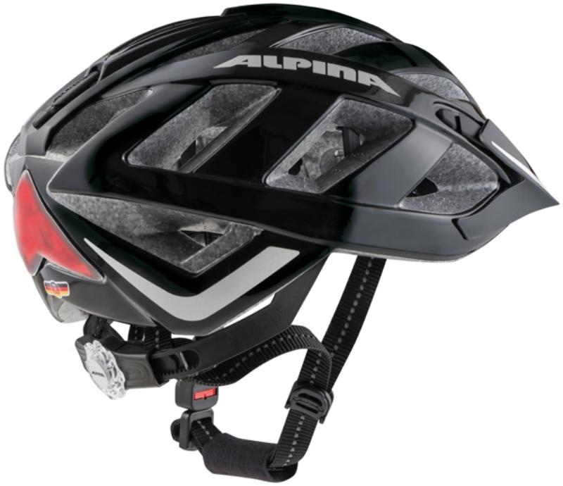 Cyklistická přilba Alpina Panoma City black matt reflective (s ... 6f98a70d015
