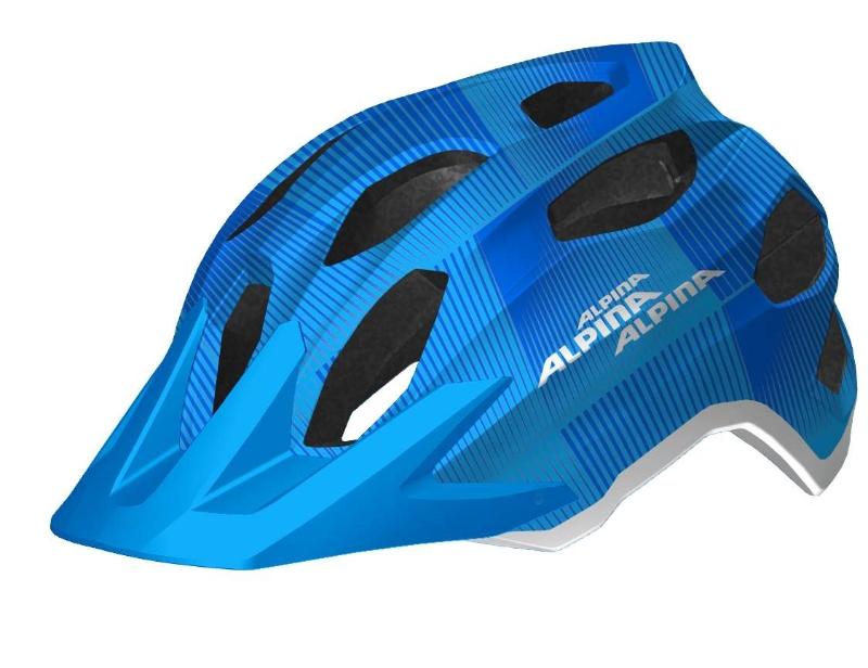 cyklistick helma alpina carapax jr blue white cyklotrading. Black Bedroom Furniture Sets. Home Design Ideas