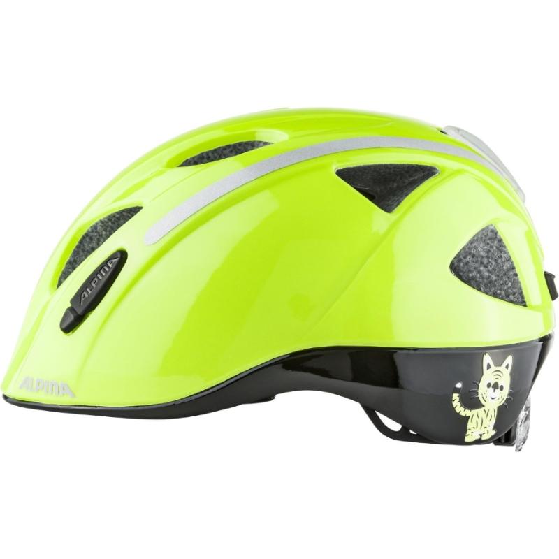 330916957e Cyklistická helma Alpina Ximo Flash safety reflective (s blikačkou ...