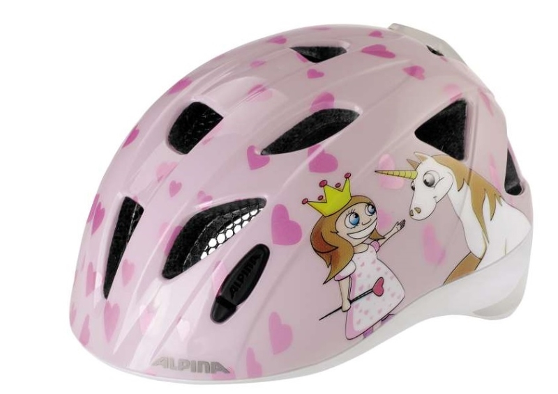 a3bd032d7d Cyklistická helma Alpina Ximo Flash princess (s blikačkou ...